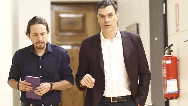 Unidos Podemos insistirá al PSOE en el referéndum pactado tras el 1-O pese al rechazo de Sánchez