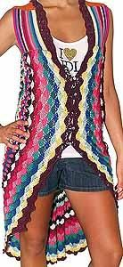 25+ best ideas about Crochet Circle Vest on Pinterest ...