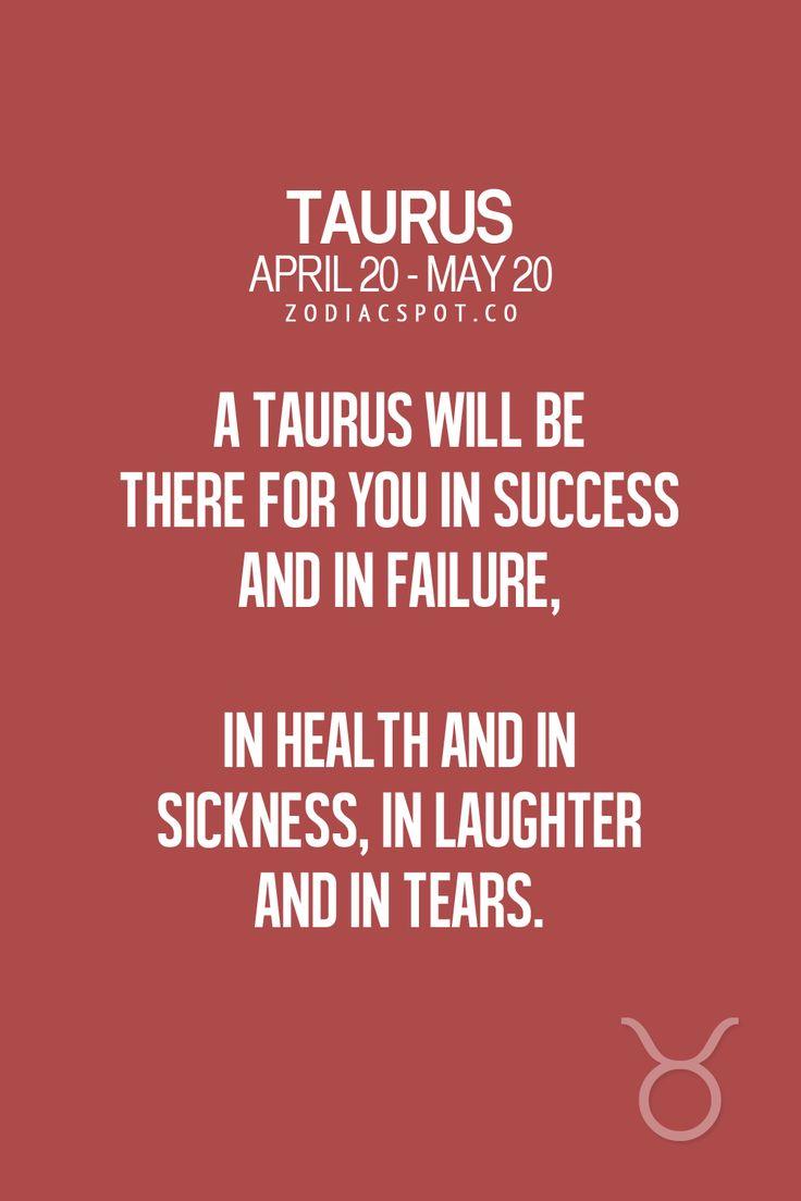 I got your back. Taurus