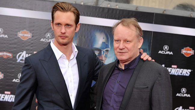 Alexander and Stellan...never knew they're Father/Son!