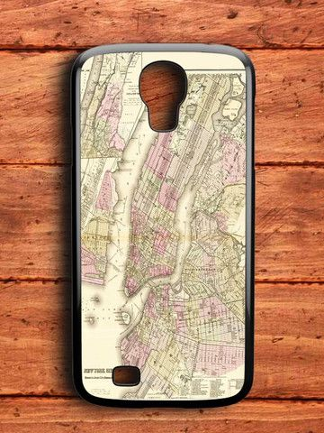 New York City Map Samsung Galaxy S4 Case