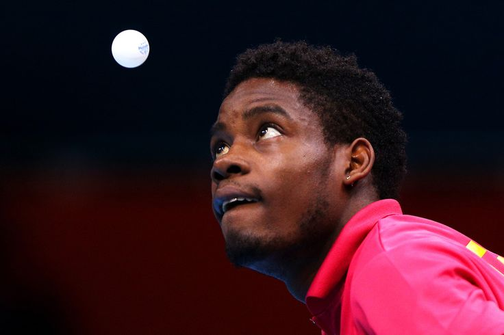 Day 1: Table Tennis - Men's Singles - Mawussi Agbetoglo of Togo