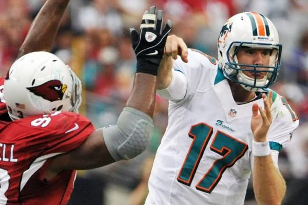 The Sports Xchange TEMPE, Ariz. -- Arizona Cardinals defensive tackle Calais Campbell said he was relieved to learn that the Dolphins' Ryan…