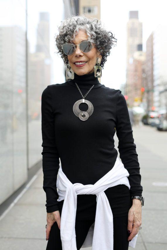 Alida Rubin on Advanced Style.