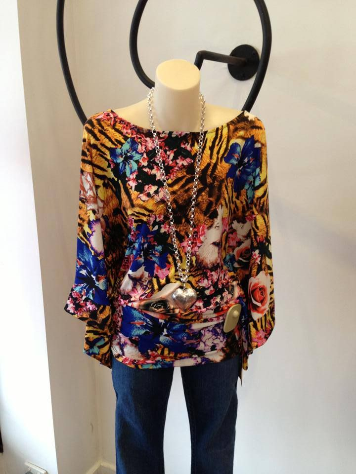 CHARLIE BROWN FASHION - 'Eastern' Tigerlilly Top