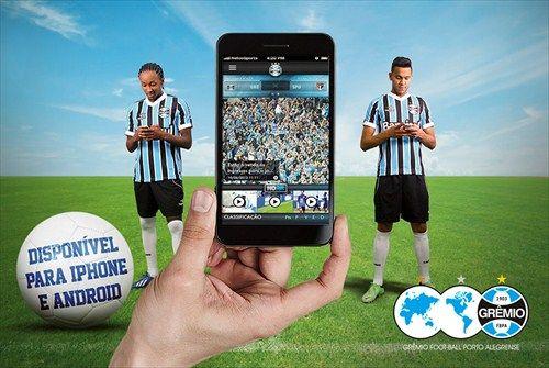 Portal Oficial do Grêmio Foot-Ball Porto Alegrense - Últimas Notícias - Baixe o novo aplicativo oficial do Tricolor para Smartphone