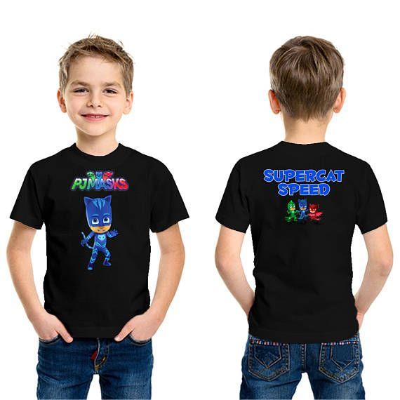 Boys//Girls Birthday Shirts PJ Masks Birthday Shirt PJ Masks Birthday Shirt PJ MASKS UNISEX Shirt #2 PJ Mask Birthday Party,ADD any name and age FAMILY Matching Shirts