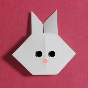 How to origami Rabbit – Easy origami instruction for children