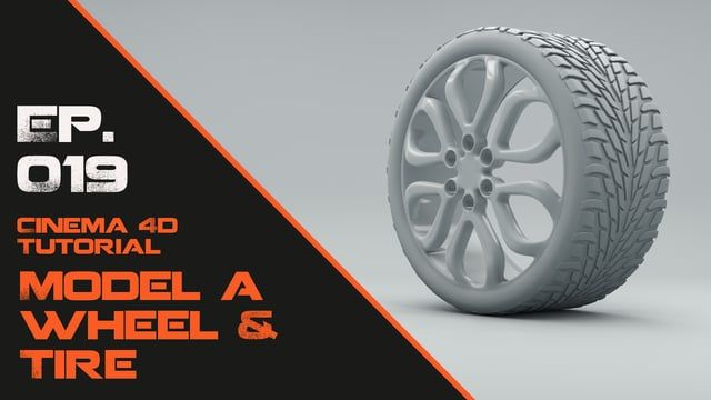 In this Cinema 4D tutorial I will model a wheel and tire. I will work in a flat plane and build the geometry using the poly pen. Then moving on to extrude and deformers to shape the model.  C4D files:  http://astronomic3d.com/c4d-scene-files/0019-wheel-and-tire