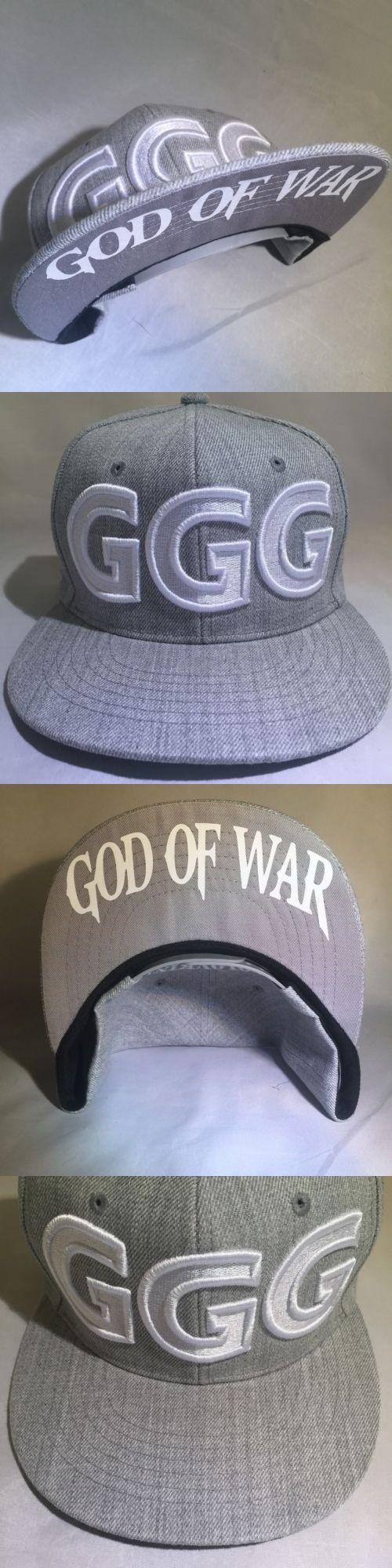 Headbands and Hats 179769: Ggg God Of War Canelo Alvarez Gennady Golovkin Boxing Hat Snapback Gray 1 -> BUY IT NOW ONLY: $31.99 on eBay!