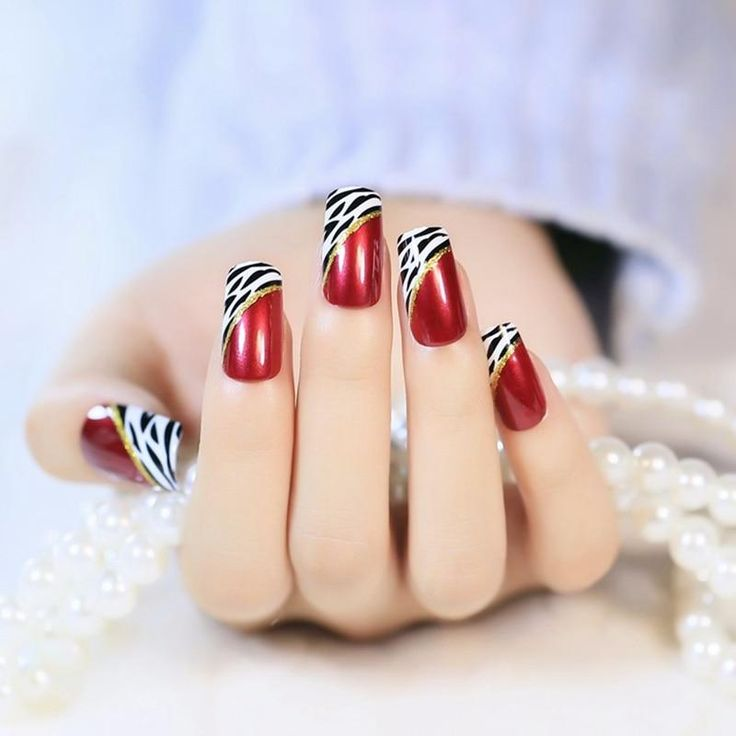 Nude Sexy Artificial Beauty Acrylic Ongles Multiple Short Faux False Nails Fake Nails Nail Art Full Cover
