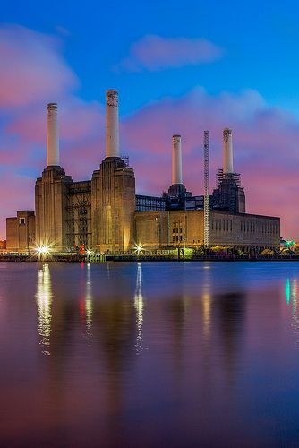 Battersea Power Station is a decommissioned coal-fired power station located on the south bank of the River Thames, in Battersea; an inner-city district of South West London.