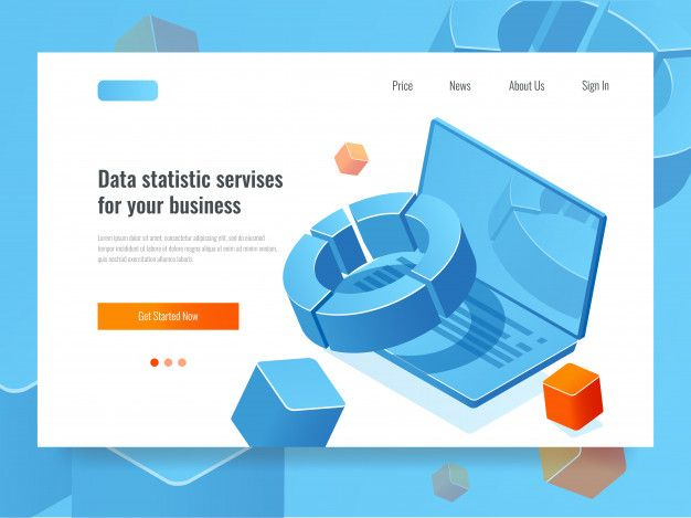 Download Data Statistic And Analysis Business Concept Of