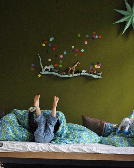 Shake My Blog | 5 créations DIY avec des branches- Kid et deco - La touche d'Agathe - Children, child, room, bed, chambre , lit, playroom, salle de jeux,