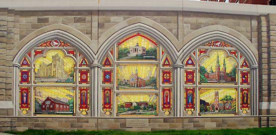 Robert dafford 39 s murals in covington ky historical for Cincinnatus mural