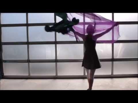 Worship Flag Dance (Holy Spirit Set A Fire) CALLED TO FLAG w Sarahlyn - YouTube