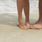 How to Cure Toenail Fungus Quickly | eHow:  warm water, Epsom salt, and vinegar