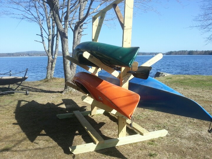 Diy Kayak Rack >> Kayak Rack Diy In 2019 Kayak Storage Kayak Storage Rack Diy