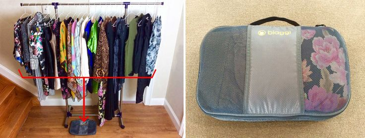 How to Pack Over 100 Items in your carry on - enough to travel for a year!