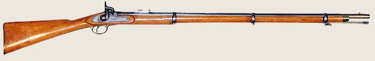 Enfield Rifle - is a type of weapon issued to Indian troops during the British Raj.It was believed that the rifles were greased with pig or cow fat hence an insult to Hindus or Muslims, one of the causes of rebellions against the British (among other things)