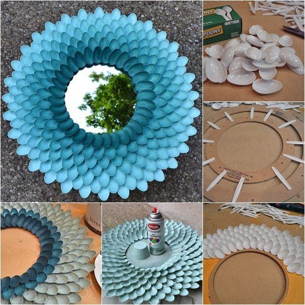 25 Kerajinan Tangan Dari Sendok Plastik