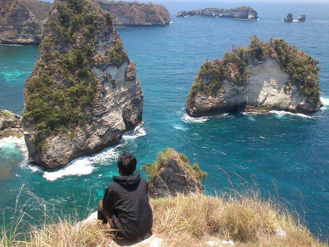 Ini mah bukan Rajaampat, Atuh. Nusa Penida | Rizaltaf.com | Life's for Sharing