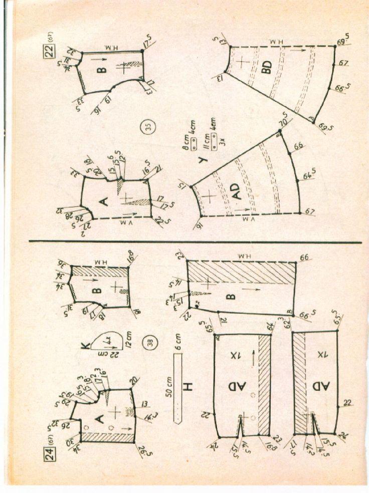 Vintage Sewing Patterns 67 winter 1957  Pattern drafting Dressmaking