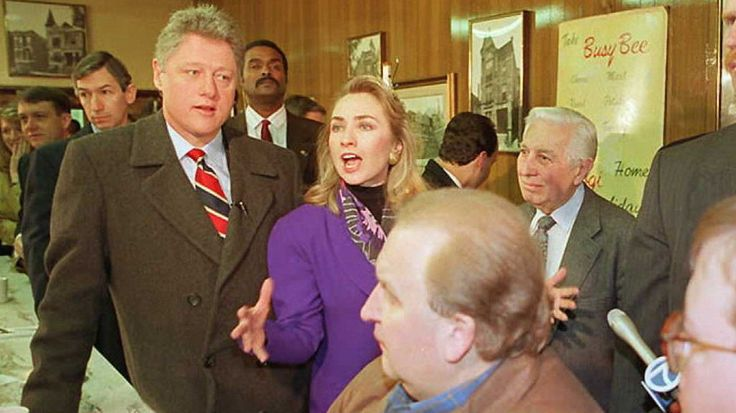 Hillary Clinton announced Sunday she is running for president — but without her maiden name, Rodham, a name she had held onto for many years, including in 1992 when her husband, Bill, ran for president.