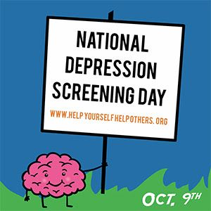 October 9th is National Depression Screening Day — Chelsea Fielder-Jenks Professional Counseling