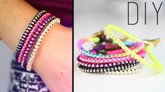 DIY | Do it yourself | By Isnata: DIY : Bracelet Strass - Rhinestone Wrap Bracelet / By Isnata Kit