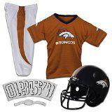 Franklin Sports NFL Denver Broncos Deluxe Youth Uniform Set Medium