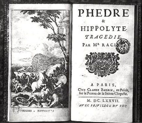 1er janvier 1677: première  représentation de Phèdre
