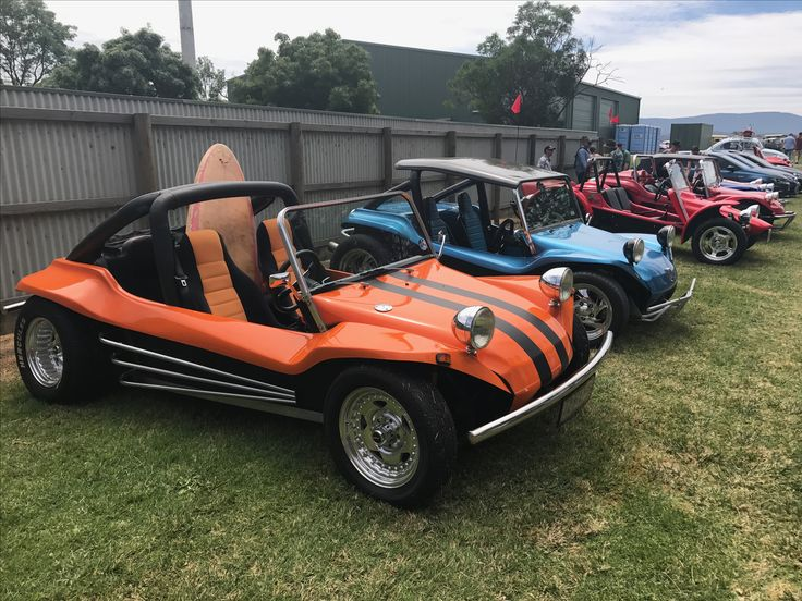 Bunch of Dune Buggies at DOTVW 2016, Yarra Glen Australia.