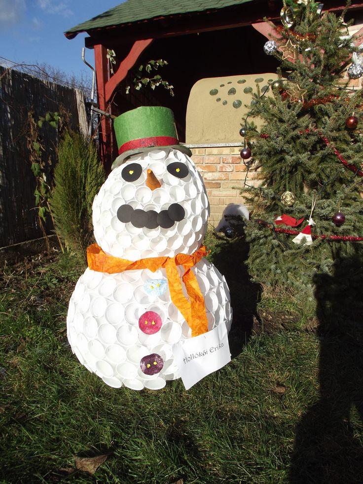 x-mas, snow man