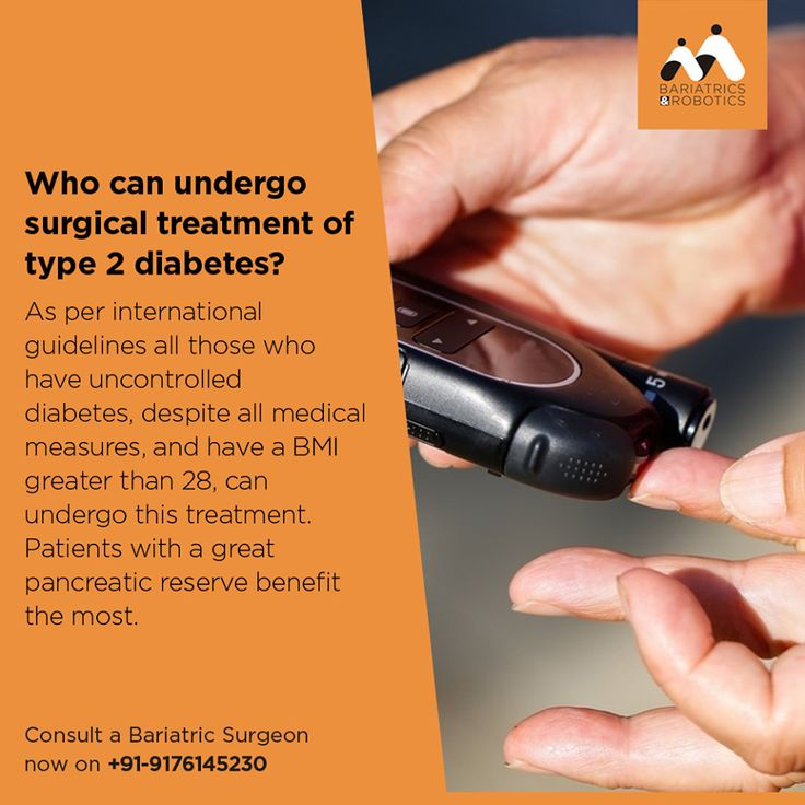 Who can undergo surgical treatment of type 2 diabetes? | Type 2 diabetes is curable. Consult a bariatric surgeon now at - www.indiaobesity.in or drop your number in the comment below.
