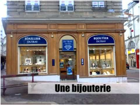 [French vocabulary] Les magasins