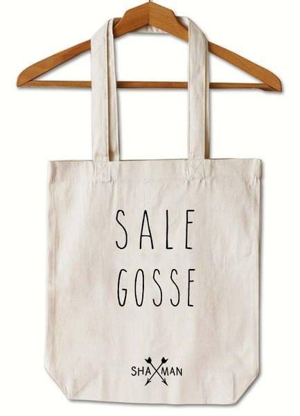 Tote Bag Sale Gosse  de Shaman sur DaWanda.com