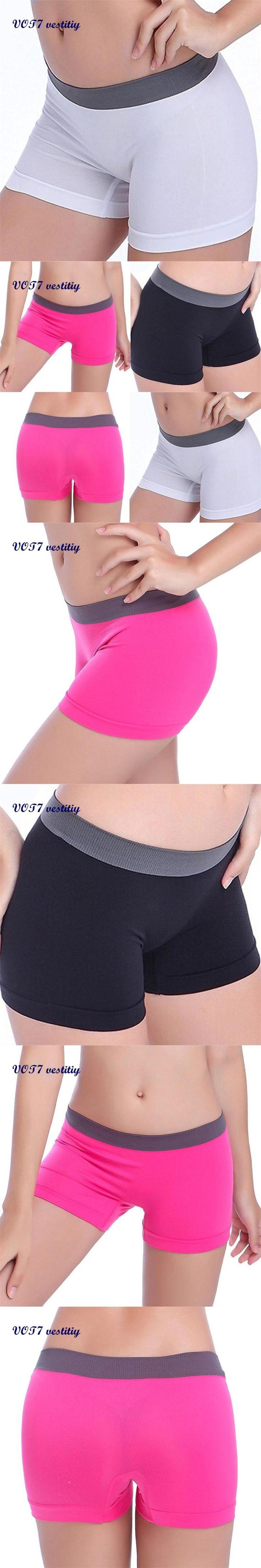 VOT7 vestitiy 2017 fashion lady shorts Women Workout Waistband Skinny Shorts trousers Sep 8