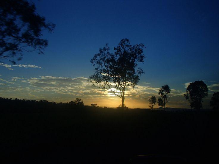 Driving up the coast of Queensland, Australia
