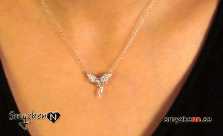 Tingeling halsband i sterling silver www.smyckenn.se