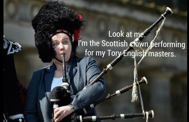 The leader of the Tory Party in Scotland, how toe curlingly embarrassing is that picture?