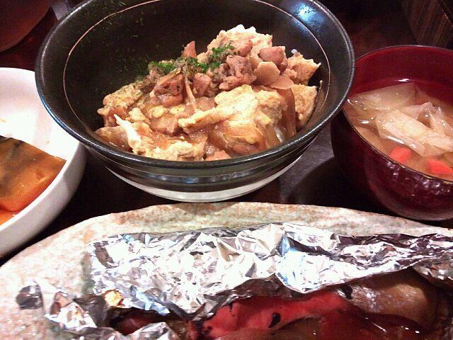 To: pomu0501 さん 宜しくお願いします(*´∇`*) 仲良くして下さいね★ - 10件のもぐもぐ - 鮭ホイル焼き&親子丼 by fuumin