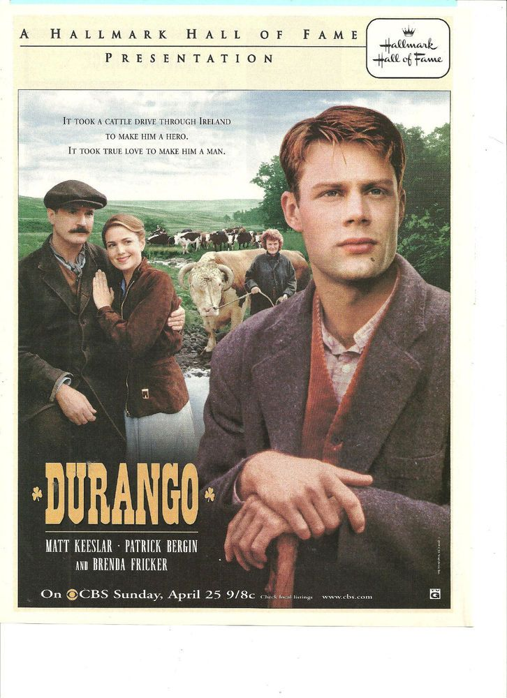 Durango, Matt Keeslar, Patrick Bergin, Full Page Promotional Ad