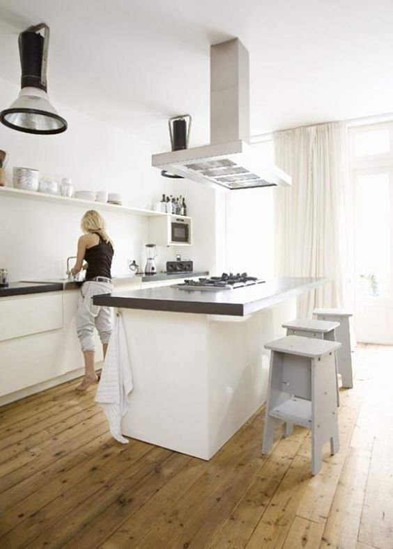25 beste idee n over keuken schiereiland op pinterest keuken bars en kleine keuken renovaties - Optimaliseren van een kleine keuken ...