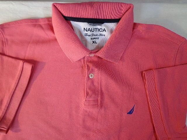 Ending Soon Mens Xl Nautica True Deck Polo Shirt In
