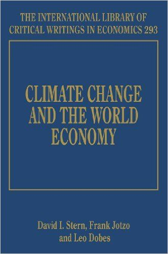 Climate Change and the World Economy. (e-Book) REQUEST/SOLICITAR: http://biblioteca.cepal.org/record=b1252955~S0*spi