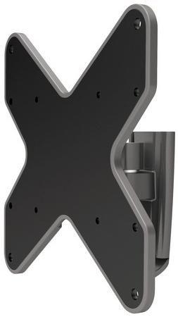 Deluxe Крепёж для тв и мониторов deluxe dlmm-1704  — 1465 руб. —  Крепёж для ТВ и мониторов Deluxe DLMM-1704 Настенное крепление подходит для телевизоров и мониторов с диагональю экрана от 23'' до 42''. Крепление DLMM-1704 позволяет менять угол наклона вниз 15 и вверх 15 градусов, а угол поворота до 80 градусов. Допустимая максимальная нагрузка 20 кг. Крепёж изготовлен из высококачественного металла и имеет самый распространённый размер монтажных отверстий. Крепление адаптировано для…