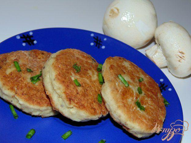 Котлеты из мяса индейки с шампиньонами - пошаговый рецепт с фото