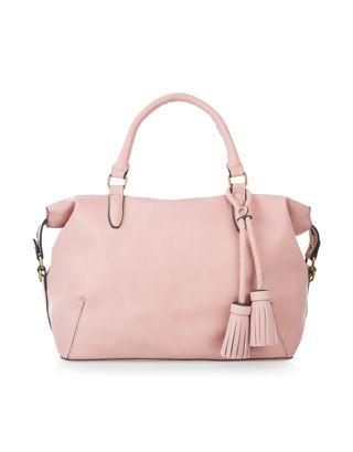 Ella Soft Handheld Bag   Pink   Accessorize