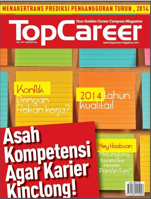 Cover Majalah Edisi 27 | Asah Kompetensi Agar Karier Kinclong